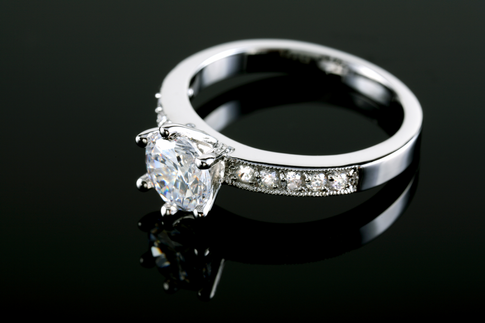 a diamond engagement ring is worth insuring